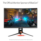 ASUS ROG Swift PG27VQ 27-inch 2K WQHD Curved Gaming Monitor - The Peripheral Store | TPS