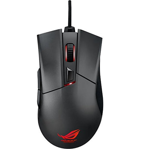 ASUS ROG Gladius II Gaming Mouse with Aura RGB lighting & DPI target button - The Peripheral Store | TPS