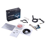 ASUS PCE-AC58BT AC2100 Dual-Band PCIe Wi-Fi Adapter with Bluetooth 5.0