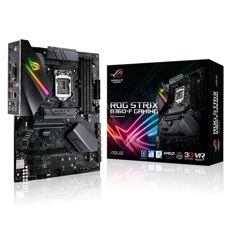 ASUS ROG STRIX B360-F GAMING LGA1151 300 Series DDR4 M.2 ATX Motherboard