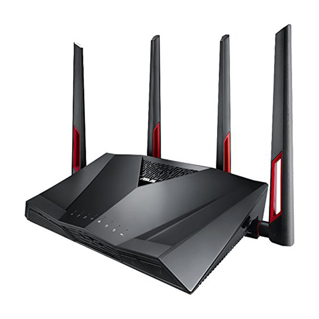ASUS RT-AC88U AC3100 Dual Band Gigabit WiFi Gaming Router with MU-MIMO, AiProtection and AiMesh