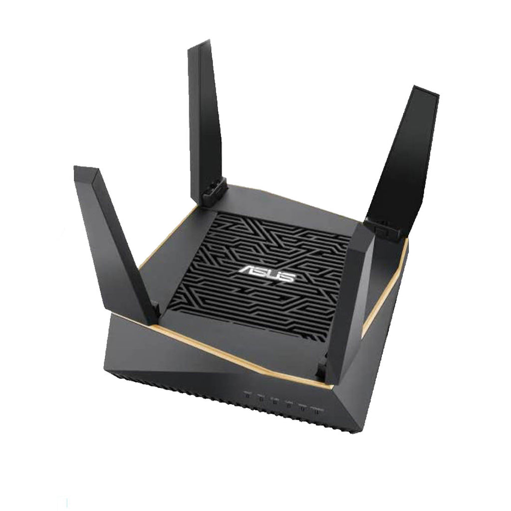 ASUS RT-AX92U AX6100 Tri-Band WiFi 6 (802.11ax) Gaming Router with Gear Accelerator, AiProtection and AiMesh