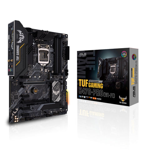 ASUS TUF Gaming H470 PRO WiFi LGA 1200 ATX Motherboard with Thunderbolt 3 Support