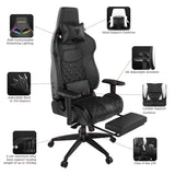 Gamdias Achilles P1 L RGB Gaming Chair with Customizable Lighting and 150° Adjustable Backrest
