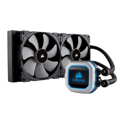 Corsair Hydro Series H115i Pro 280mm Extreme Performance Liquid CPU Cooler - The Peripheral Store | TPS