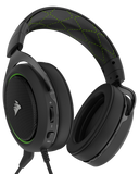 Corsair HS50 Stereo Gaming Headset Green - The Peripheral Store | TPS