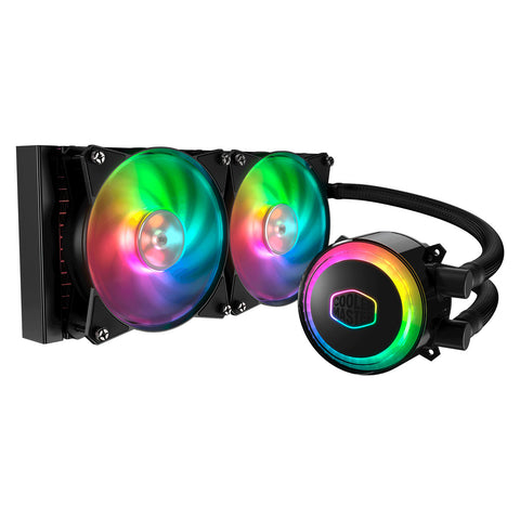 Cooler Master MASTERLIQUID Addressable RGB Liquid CPU Cooler