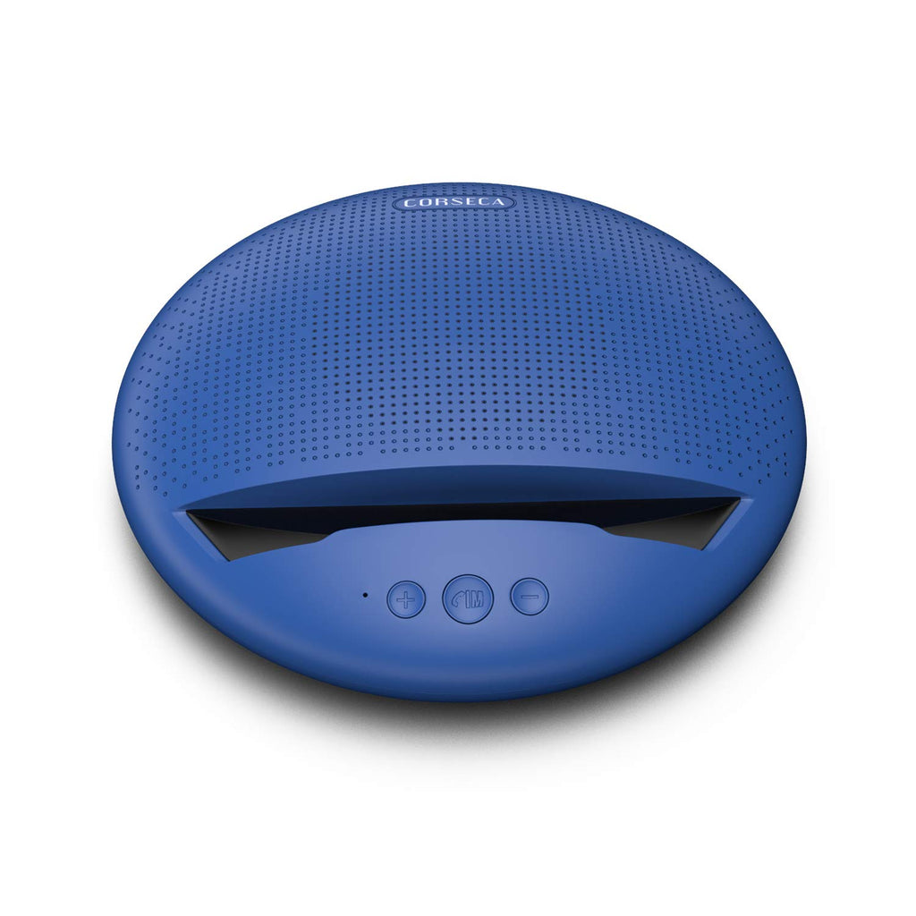 Corseca MuDisc Portable Wireless Bluetooth Stereo Speaker with Mobile stand