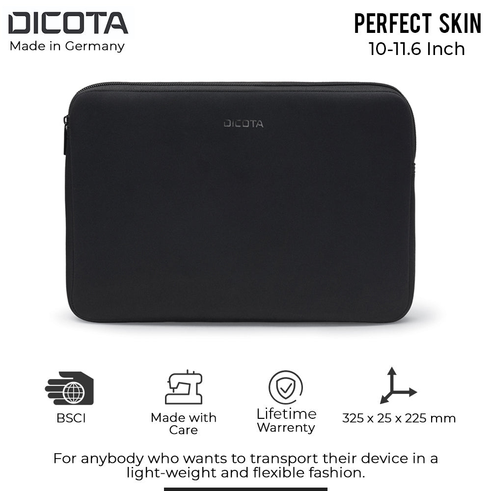 Dicota Perfect Skin Sleeve Black Notebook Case