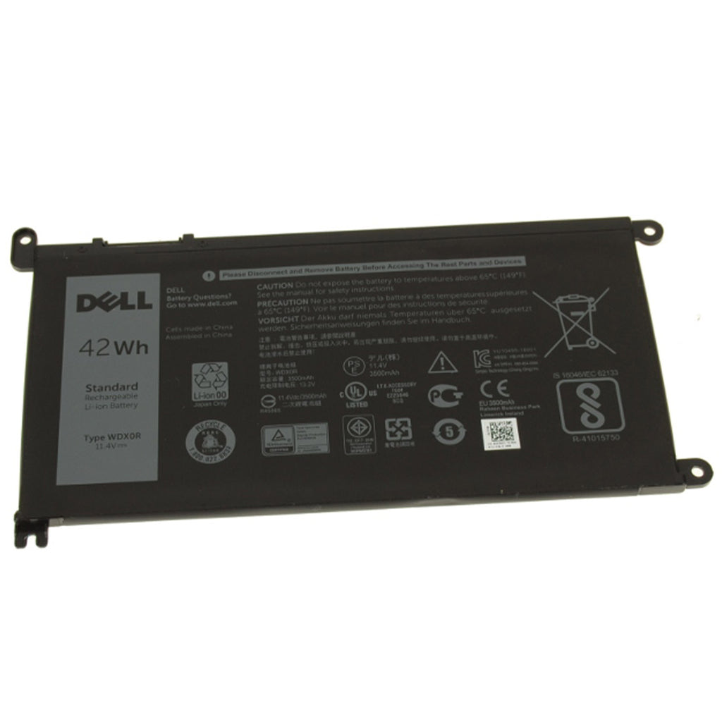 Dell Original 3500mAh 11.4V 42WHR 3-Cell Replacement Laptop Battery for Inspiron 13 7378