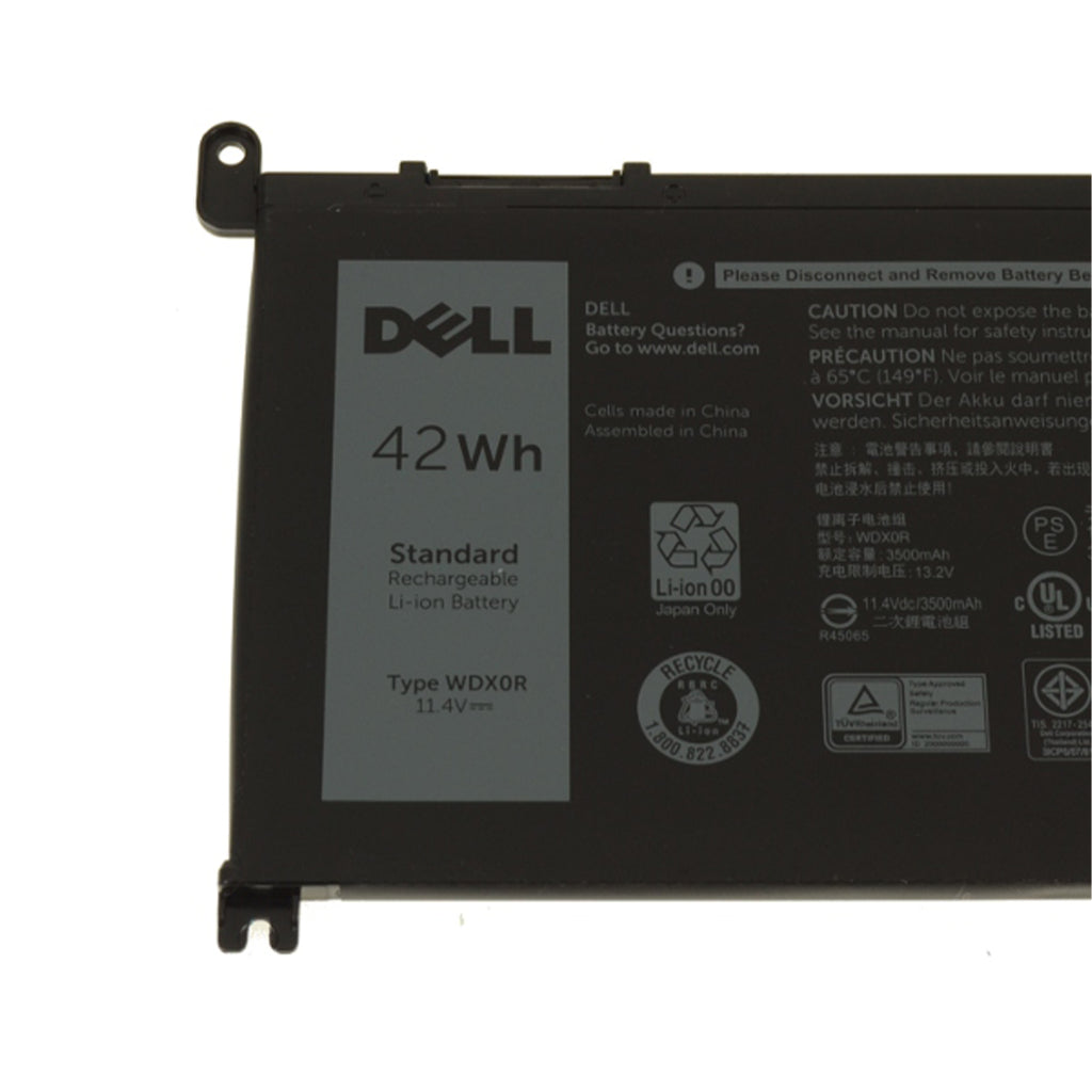 Dell Original 3500mAh 11.1V 42WHR 3-Cell Replacement