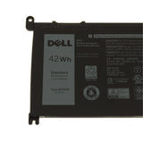 Dell Original 3500mAh 11.4V 42WHR 3-Cell Replacement Laptop Battery for Inspiron 17 5770