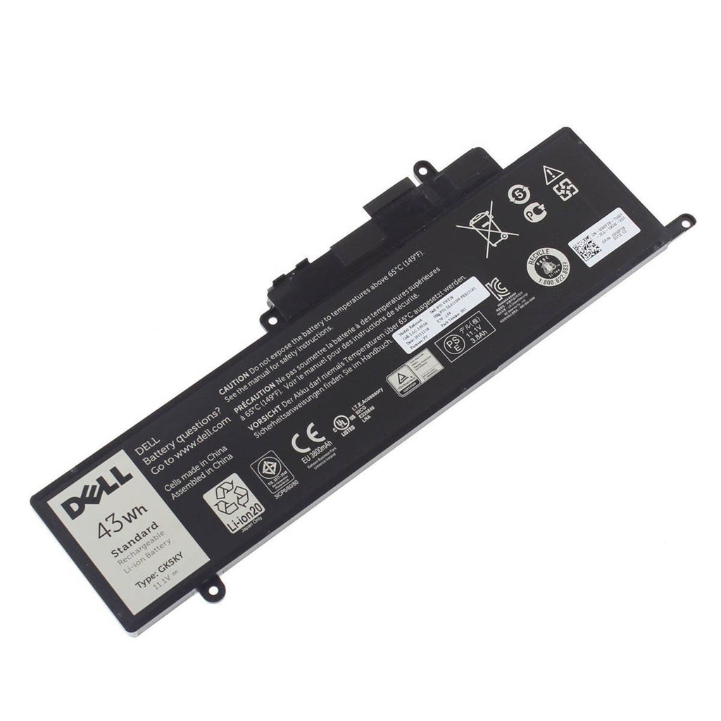 Dell Original 3800mAh 11.1V 43WHR 3-Cell Battery for Inspiron 7353