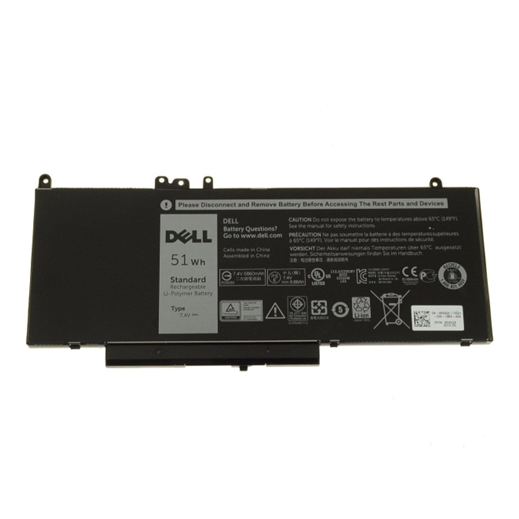 Dell Original 6980mAh 7.4V 51WHR 4-Cell Battery for Latitude E5450