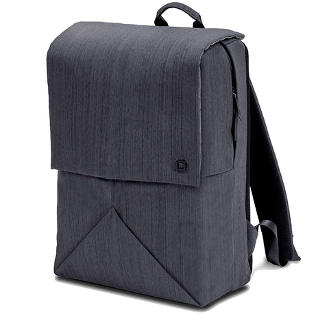Dicota Code Backpack for 11-13 Inch Laptop with integrated rain cover (Black)