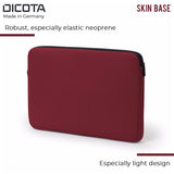 Dicota Skin Base Sleeve Notebook Case for 12- 12.5 Inch Laptops