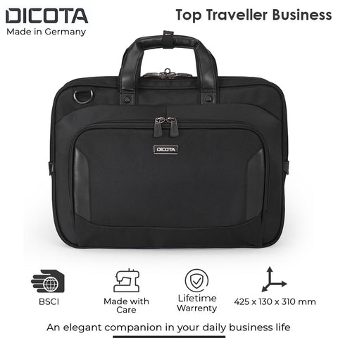 Dicota Laptop Traveller Business for 14-15.6 Inch Laptops