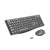 HP CS10 2.4GHz Wireless Keyboard and Optical Mouse Combo with Adjustable DPI