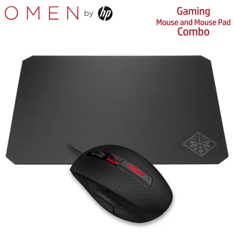 OMEN Gaming Combo X9000 Mouse and Mouse Pad (J6N88AA, 2VP01AA)
