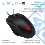 HP Gaming Combo Pavilion 400 Headset and Omen 400 Mouse