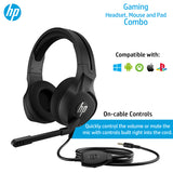 HP Gaming Combo -  Pavilion Headset, OMEN Mouse 400, Mousepad