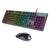HP KM300F RGB Wired Keyboard and Mouse Gaming Combo with Adjustable DPI