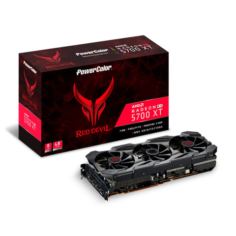 Power Color Red Devil Radeon RX 5700 XT RGB 8GB GDDR6 256-bit Graphics Card