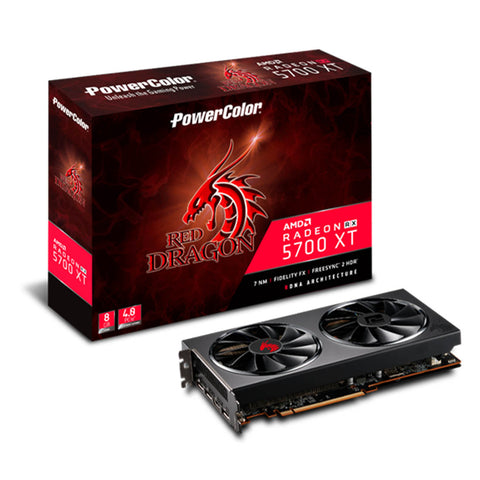 PowerColor Red Dragon Radeon RX5700 XT 8GB GDDR6 256-bit Gaming Graphics Card