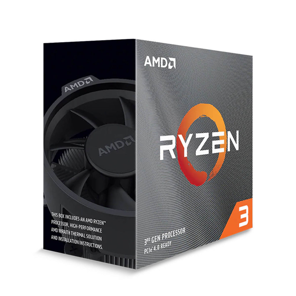 AMD Ryzen 3 3300X Desktop Processor 4 Cores 8 Threads 18MB Cache PCIe 4.0