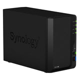 Synology DiskStation DS218+  2 Bay Dual Core 2GB DDR3L NAS Drive