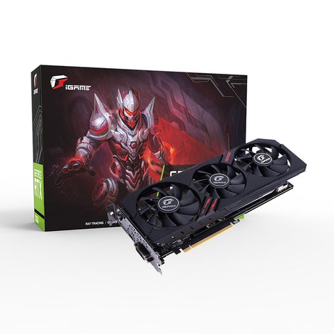 Colorful iGame GeForce GTX 1660 Super Ultra 6G-V 6GB DDR6 Gaming Graphics Card