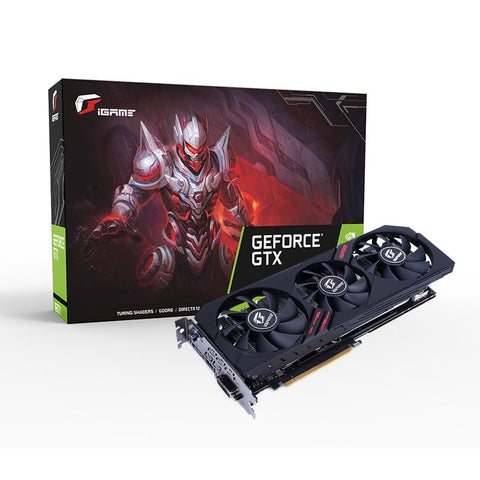 Colorful iGame GeForce GTX 1660 Ti Ultra 6G-V 6GB DDR6 Gaming Graphics Card