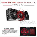 Colorful iGame GeForce RTX 2080 Super Advanced OC  8GB DDR6 Gaming Graphics Card