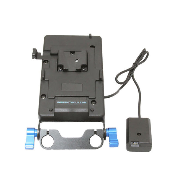 Indipro V-Mount  plate with Sony NP-FW50 Dummy Battery