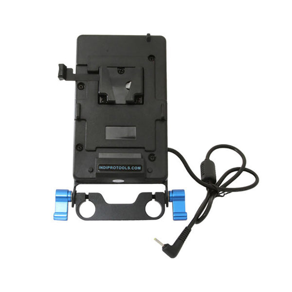 Indipro V-Mount plate for Blackmagic Pocket Camera