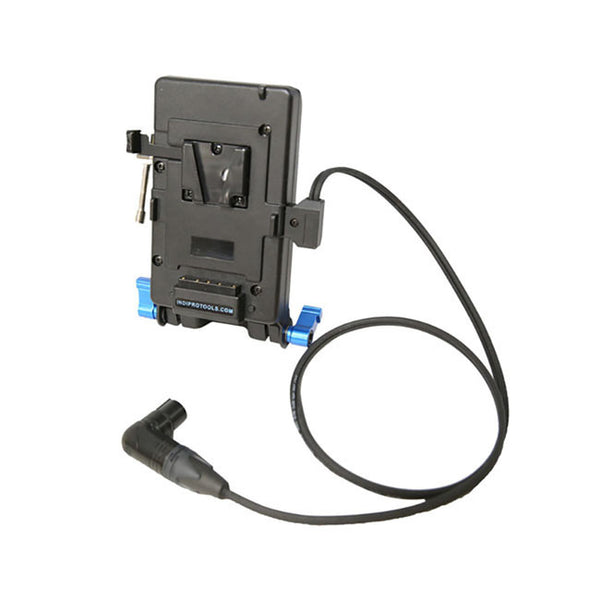 Indipro V-Mount Plate with Stand Clamp for Litepanels