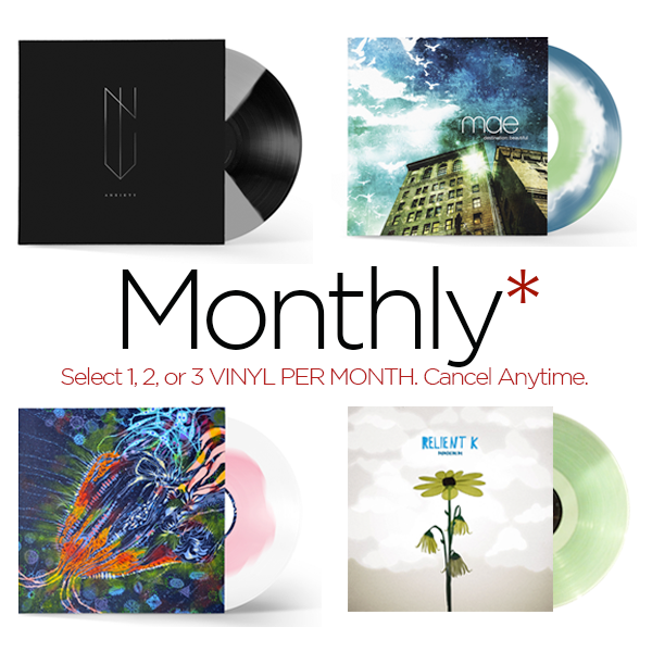 Vinyl Subscription Box (Monthly)
