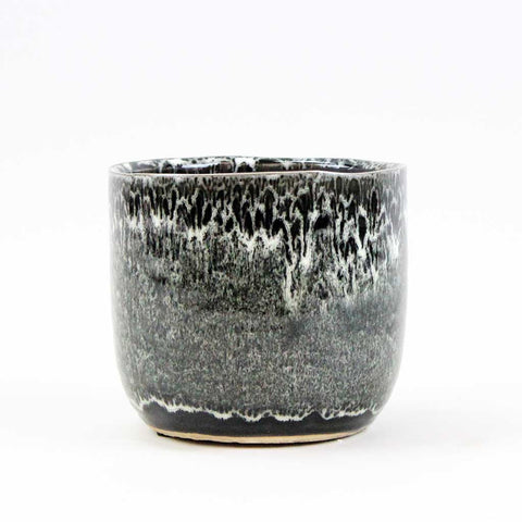 Black Speckle Pot