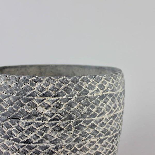 Dark Pave Pot Large