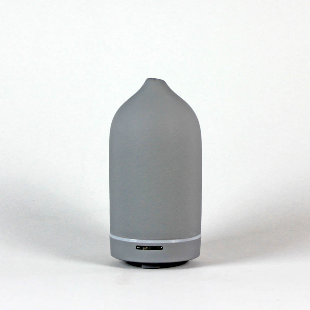 Ceramic Diffuser in Charcoal Grey