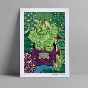 Sakina x Bloombox Club A3 Signed Print