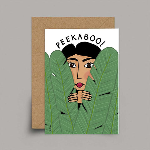 Peekaboo - A6 Card | Sakina Original Card