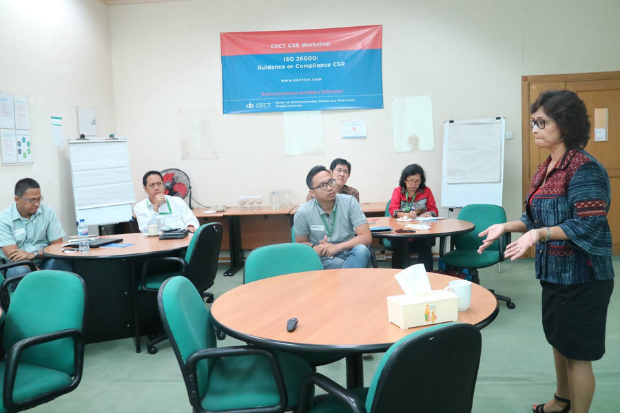 "Pelatihan ""ISO 26000: Guidance or Compliance CSR?"""