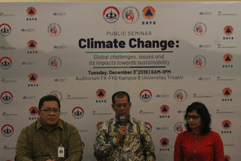 Public Seminar: Climate Change - Global Challenges, Issues and its Impacts Towards Sustainability