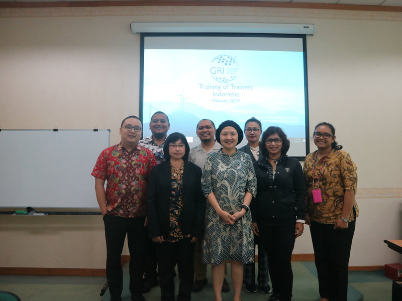 Training on Trainers - GRI Standard Indonesia