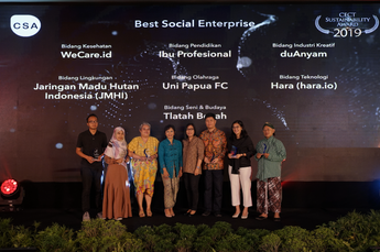 "CECT Sustainability Awards 2019 ""Best Social Enterprise"""