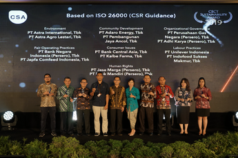"CECT Sustainability Awards 2019 ""Based on ISO 26000 (CSR Guidance)"""