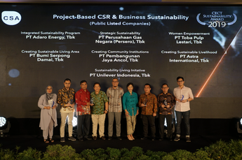 "CECT Sustainability Awards 2019 ""Project-Based CSR & Business Sustainability (Public Listed Companies)"