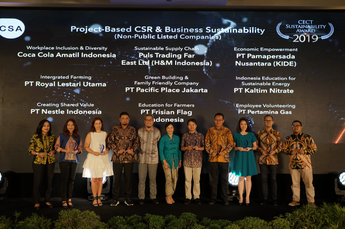 "CECT Sustainability Awards 2019 ""Project-Based CSR & Business Sustainability (Non-Public Listed Companies)"""