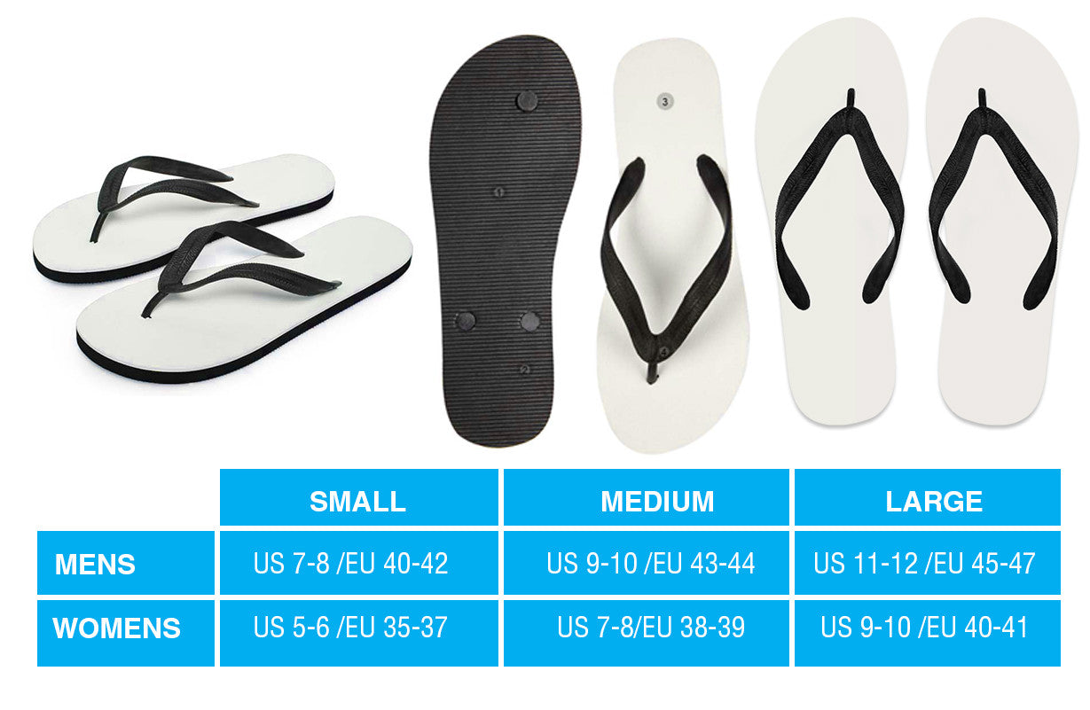 06378bbb5 Flip Flops Size Guide - Your Amazing Design